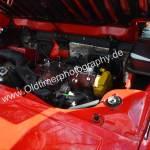 Fiat X1/9 five speed Motorraum