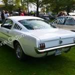 Ford Mustang Fastback und dem Kennzeichen könnte er Baujahr 1965 sein