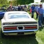 Ford Mustang Shelby GT 500 mit vielleicht unter der Motorhaube 428 mit einem getunten Cobra-Jet-7-Liter-V8 1969 Heckansicht