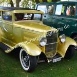 Hotrod Ford Modell A in goldfarben