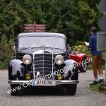 Mercedes-Benz 170 V bestens poliert zum Oldtimertreffen