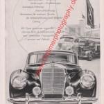 Mercedes-Benz Werbung in Motor-Rundschau NKZ Juni 1953