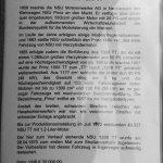 NSU 1200 TT Verkaufen Kaufen Datenblatt