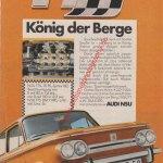 NSU TT König der Berge Werbung 1970