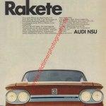 NSU TT: Rakete Werbung 1970er Jahre