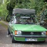 Opel Kadett C & VW SP2 do Brasil hinten