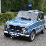 Renault 4 auf der Zufahrtstraße zur Kressbronn Classics 2018