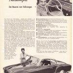 VW Karmann Ghia Typ 14 Testbericht von 1959