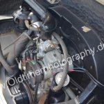 VW Motor im Karmann Ghia Typ 14