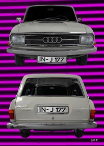 Audi F103 Variant double in original color