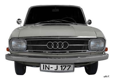 Audi F103 Poster in Originalfarbe 1