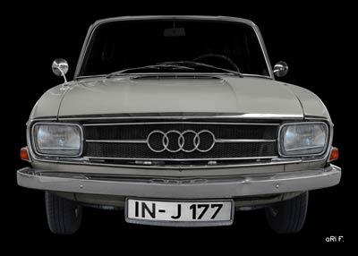 Audi F103 Poster in Originalfarbe 2