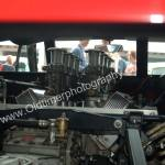 De Tomaso Mangusta mit Blick auf den 289er V-8 Motor von Ford
