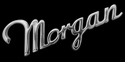 Logo Morgan Plus 8 als Schriftzug-Logo