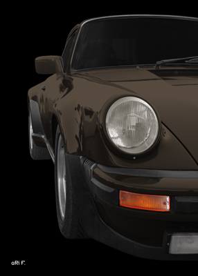Porsche 911 G-Modell Poster new created by aRi F.