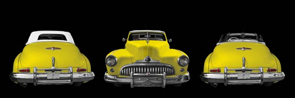 1947 Buick Super Model 56C in yellow by aRi F.