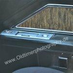 1970 Cadillac DeVille Aschenbecher und elektr. Fensterheber im Fondbereich