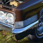 1970 Cadillac DeVille Convertible Detailansicht auf Kotflügel