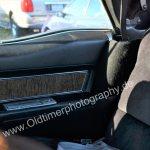 1970 Cadillac DeVille Convertible Detailansicht auf Rückbank und Fondtüre
