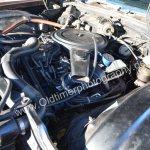 1970 Cadillac DeVille Convertible Teilansicht auf V8-Motor mit 7737 ccm und 375 PS