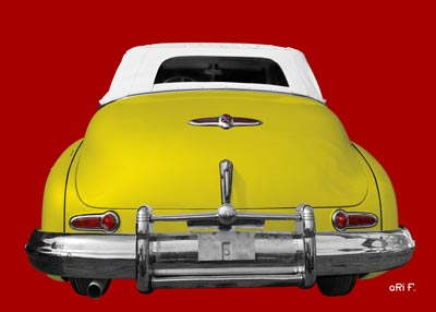 1947 Buick Super Series 50 rear view