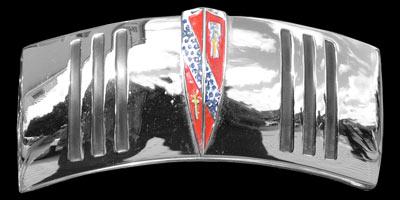 Logo Buick Super 1941 auf Scheinwerfergehäuse