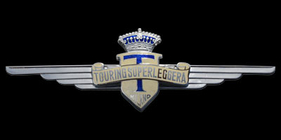 Logo Carrozzeria Touring Superleggera Milano