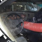 Mercedes-Benz C 111 Innenansicht auf Armaturenbrett