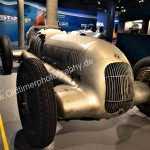 Mercedes-Benz W 25 Silberpfeil Silver Arrow Front View
