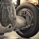 Mercedes-Benz W 25 Silberpfeil Trommelbremsen hydraulisch betätigt