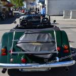Morgan Plus 8 in racing green Heckansich