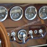 Morgan Plus 8 mit drei verschiedenen Temperaturanzeigen und Tankfüllung