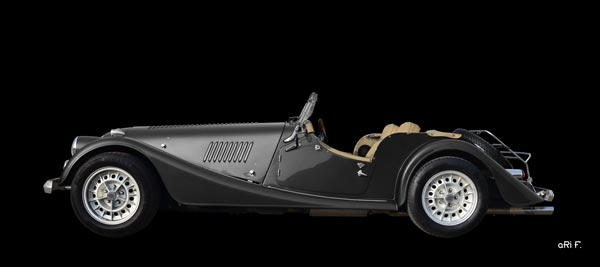 Morgan Plus 8 in black only (original color)