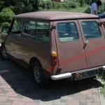 Innocenti Mini t Leyland Hecknsicht mit geschlossenen Türen