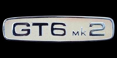 Logo TRIUMPH GT6 Mk2 Coupé 1966–1973
