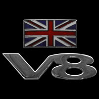 Logo Triumph STAG V8