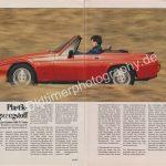 Reliant Scimitar AMS Test Ausgabe 10 1987 Seite 74-75