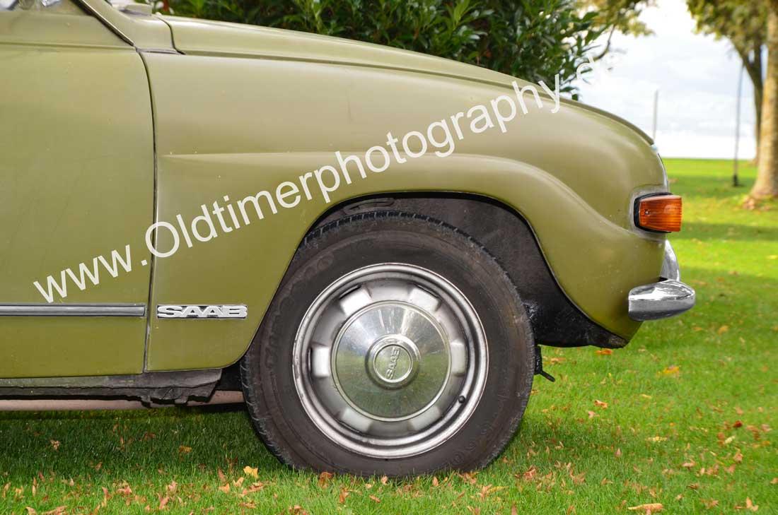 SAAB 96 Seitenprofil / side view in front