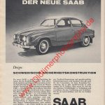 Saab 96 Advertising / Werbung in 1964
