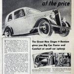 Singer Bantam advertising 2 February 1937 Quelle: Grace 's Guide