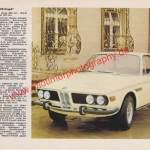BMW E9 2800 CS technische Daten in Auto-Modelle-Katalog von 1971