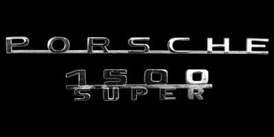 Logo Porsche 356 A 1500 Super
