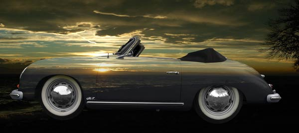 Porsche 356 A 1500 Super in sundowners