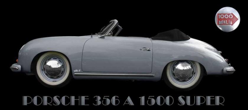 Porsche 356 A 1500 Super Poster