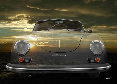 Porsche 356 A 1500 Super in sundowner