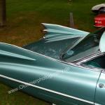 1959 Cadillac Serie 62 Heckflossendraufsicht