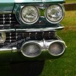 1959 Cadillac Serie 62 Scheinwerfer- und Blinkerdetail