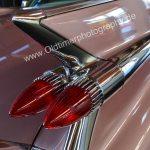 1959 Cadillac Sixty Special Heckflossen mit noch mehr Chrome vor den Doppel-Blinkern