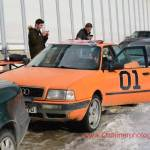 Audi 80 quattro in Signalfarbe orange
