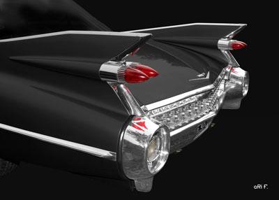 1959 Cadillac Serie 62 US-Klassiker in black & black